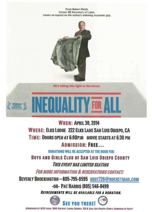 a critique of inequality for all a film by j kornbluth Inequality for all is directed by jacob kornbluth with stars such as robert reich, dolly parton, mary tyler moore director: jacob kornbluth when becoming members of the site, you could use the full range of functions and enjoy the most exciting films.