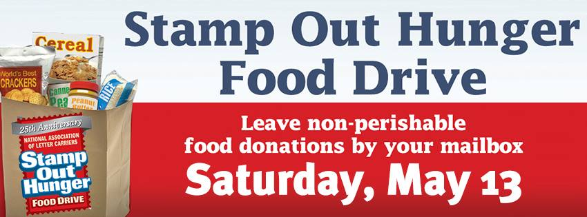 NALC - Stamp Out Hunger Food Drive