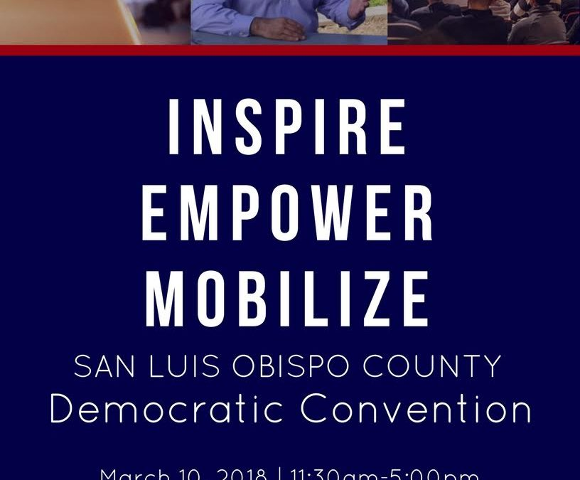 SLO County Democratic Convention!