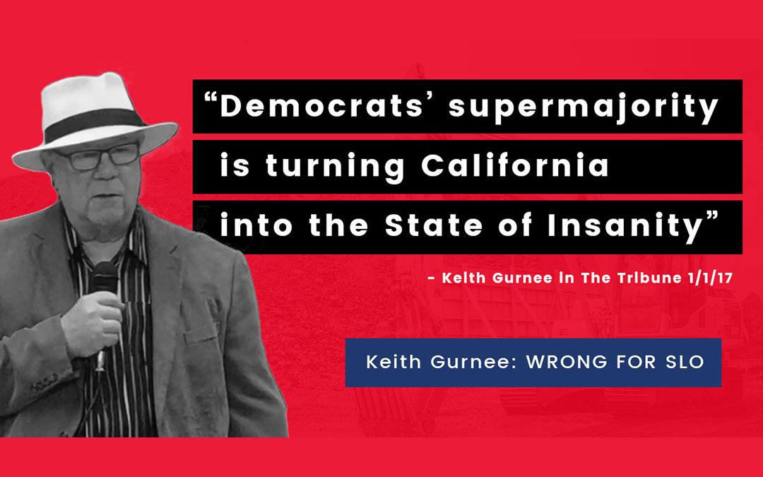 Like Trump? Then you'll love Keith Gurnee as SLO mayor